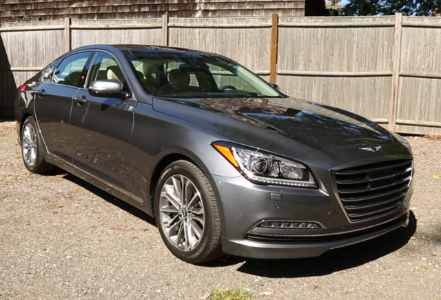 2017 Genesis G80, Front-quarter view, exterior, gallery_worthy