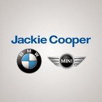 Jackie Cooper BMW MINI logo