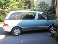 Picture of 1996 Toyota Previa 3 Dr DX Supercharged Passenger Van, exterior
