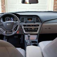 Picture of 2015 Hyundai Sonata SE, interior