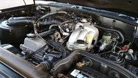 Picture of 1997 Toyota Land Cruiser 4 Dr STD 4WD SUV, engine