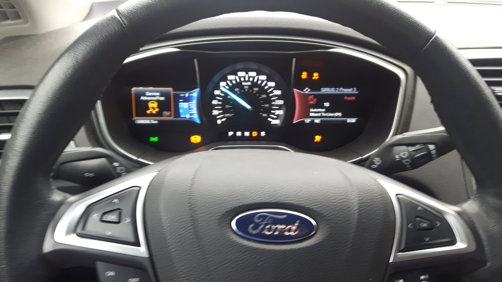 Ford Fusion Questions Why Do Allthe Lights On My Dash Of