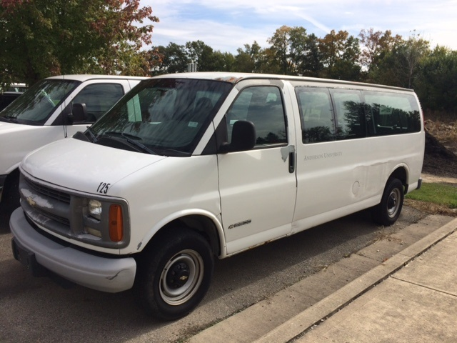 Picture of 2002 Chevrolet Express G2500 Passenger Van Extended, exterior