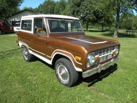 1974 Ford Bronco Picture Gallery