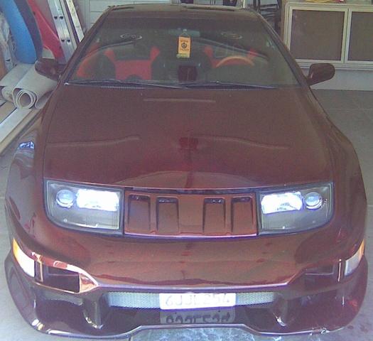 1996 Nissan Regular Cab Interior: 1996 Nissan 300ZX