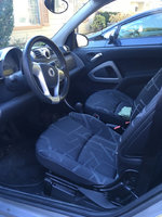 Picture of 2008 smart fortwo passion cabrio, interior
