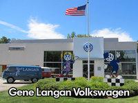 Gene Langan Volkswagen logo