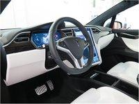 2016 Tesla Model X P100D, Model x interior, interior