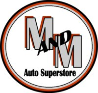 M and M Auto Superstore logo