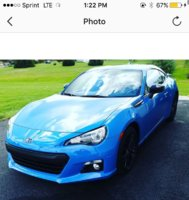 Picture of 2016 Subaru BRZ Series.HyperBlue, exterior