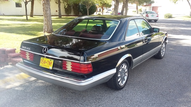 Picture of 1987 Mercedes-Benz 560-Class 560SEC Coupe