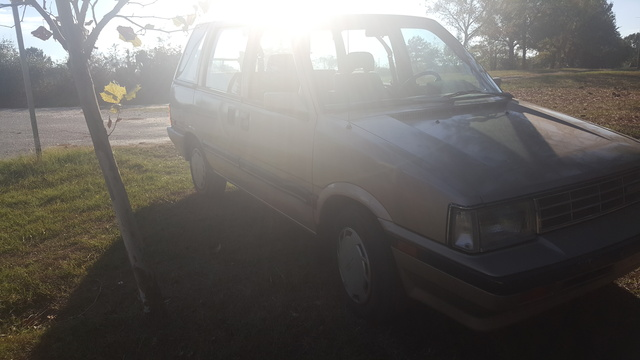 1988 Nissan Stanza Wagon | The Wagon  |1988 Nissan Stanza Wagon 4wd