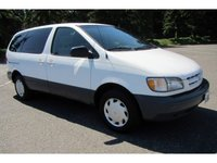 1999 Toyota Sienna 4 Dr LE Passenger Van, The outside is in great condition and their is only a few spots that is not easy to see. As old as the van is it is in the best condition I have seen.