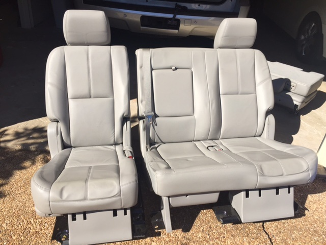 Chevrolet Tahoe Questions - Change 2nd row bench into ...