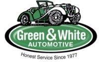 Green & White Automotive logo