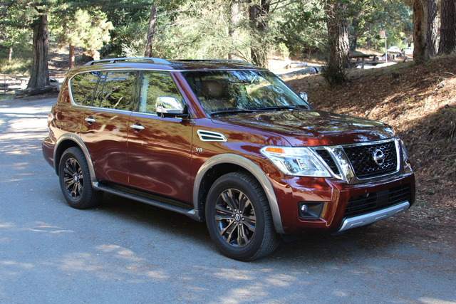 Picture of 2017 Nissan Armada, exterior, manufacturer, gallery_worthy