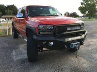 2001 GMC Sierra 2500HD 4 Dr SLT 4WD Crew Cab SB HD, BRT with a new look & a wee bit of attitude!, exterior