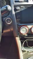 Picture of 2016 Subaru WRX STI Series.HyperBlue, interior