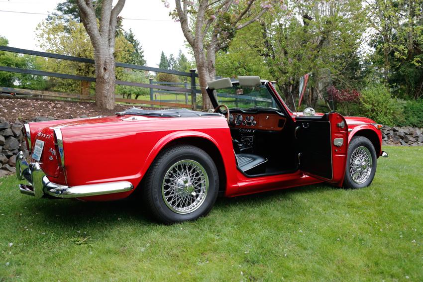 1966 Triumph TR4A - Overview - CarGurus