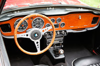 Picture of 1966 Triumph TR4A, interior