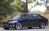 Exterior of the 2017 Genesis G90, exterior, gallery_worthy