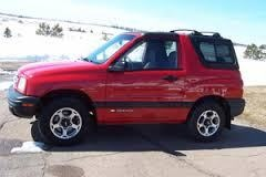 1999 chevy tracker lifted