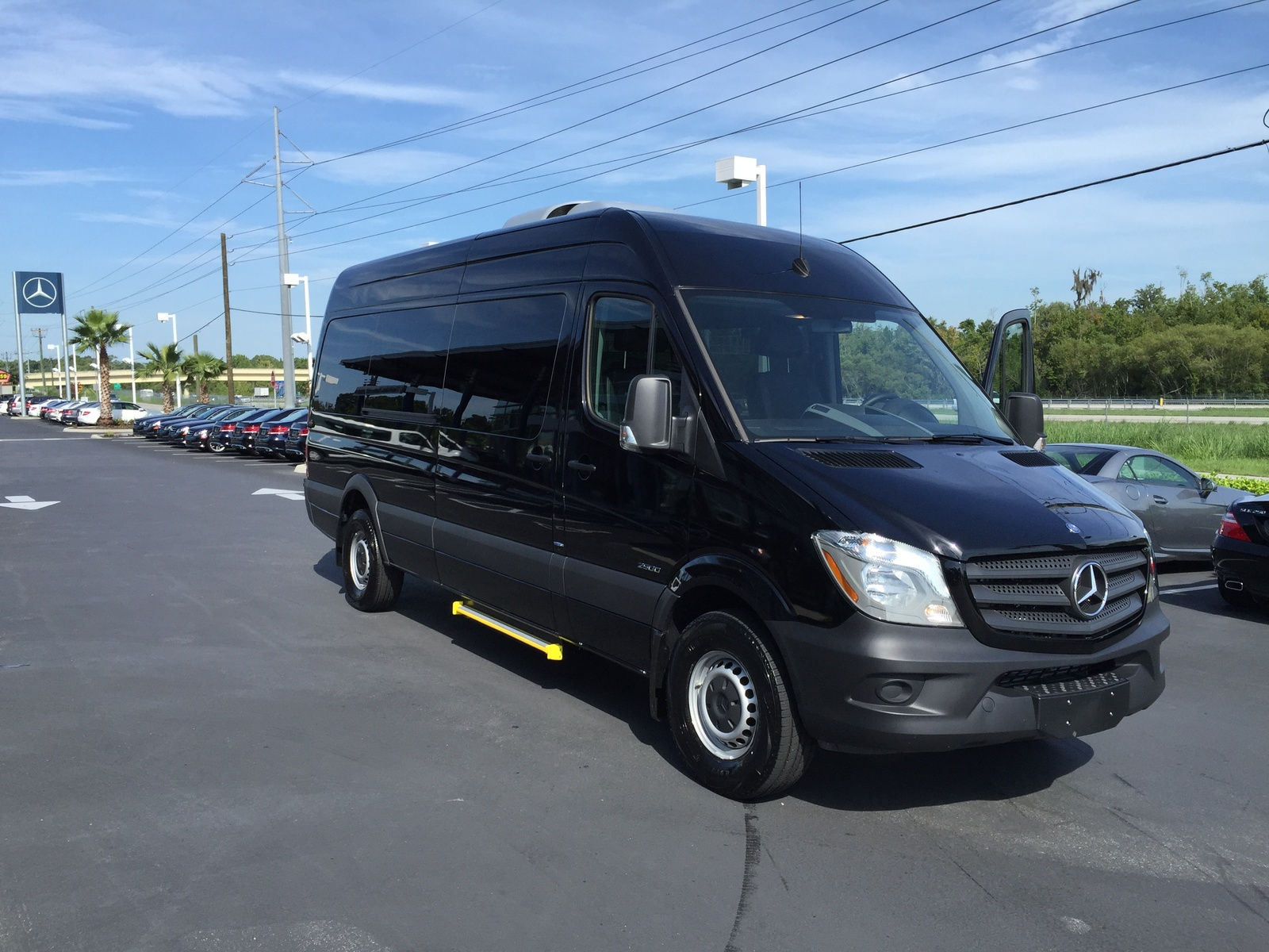 2015 mercedes benz sprinter 2500 170 wb passenger van for for 2015 mercedes benz van