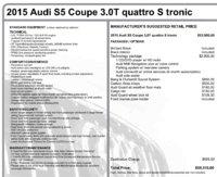 Picture of 2015 Audi S5 3.0T Quattro Premium Plus