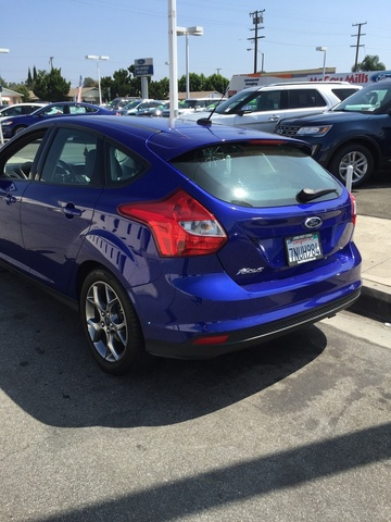 picture of 2014 ford focus se hatchback exterior. Cars Review. Best American Auto & Cars Review