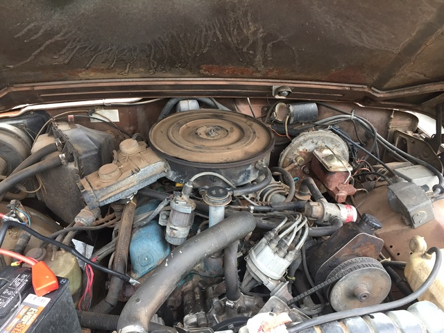 Picture of 1980 Jeep Wagoneer, engine