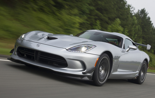 2017 Dodge Viper, Front-quarter view, exterior, manufacturer, gallery_worthy