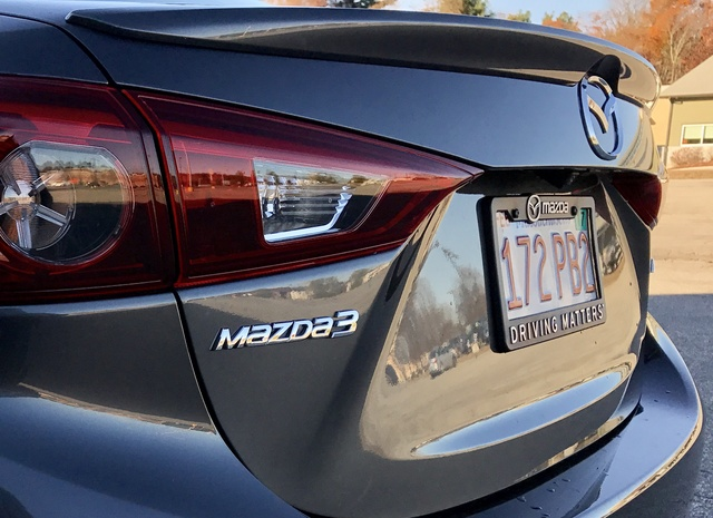 2017 Mazda MAZDA3, 2017 Mazda3 Rear Badge, exterior, gallery_worthy