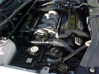 Picture of 2001 Lincoln Continental 4 Dr STD Sedan, engine
