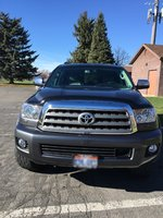 Picture of 2014 Toyota Sequoia Platinum FFV 4WD, exterior