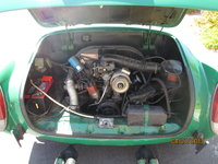 Picture of 1974 Volkswagen Karmann Ghia Convertible, engine