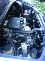 Picture of 2000 Toyota Sienna XLE, engine
