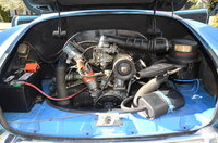 Picture of 1971 Volkswagen Karmann Ghia Convertible, engine