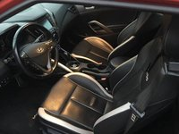 Picture of 2014 Hyundai Veloster Turbo Black Seats, interior