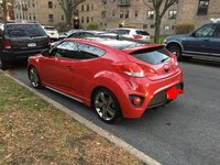 Picture of 2014 Hyundai Veloster Turbo Black Seats, exterior