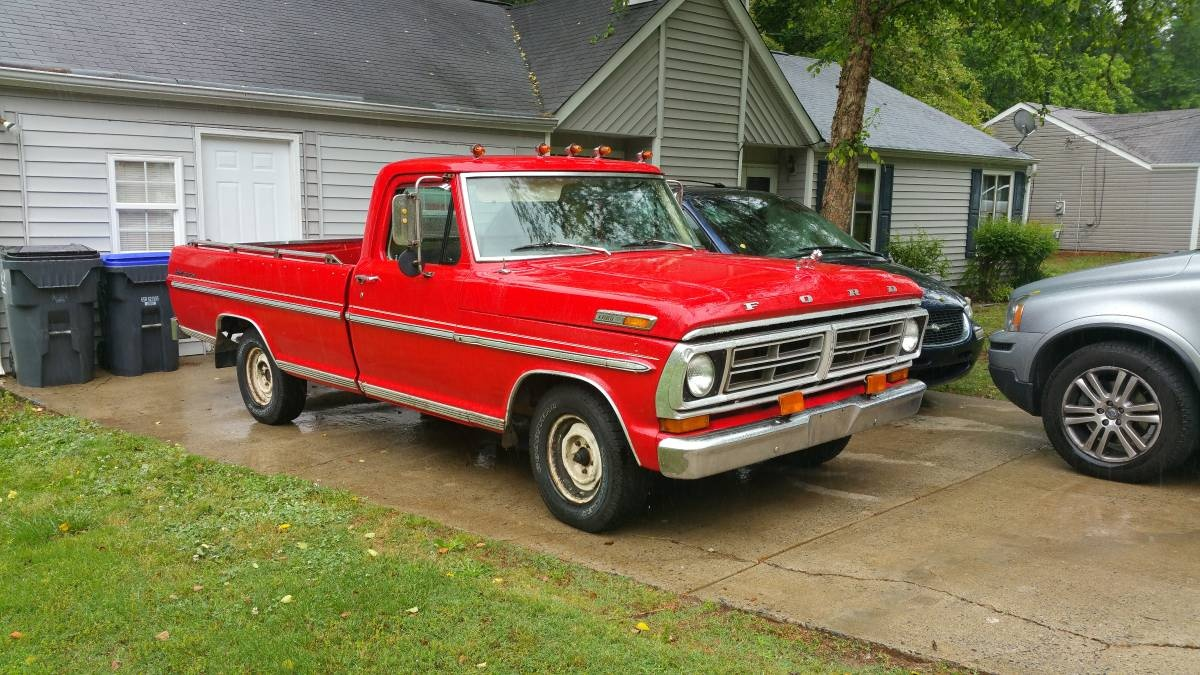 1972 Ford F 100 Overview Cargurus