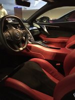 Picture of 2017 Acura NSX SH-AWD Sport Hybrid, interior