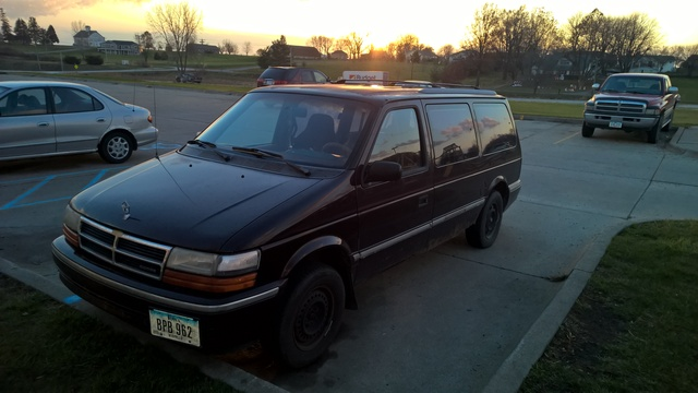 Picture of 1993 Dodge Caravan 3 Dr SE Passenger Van, exterior