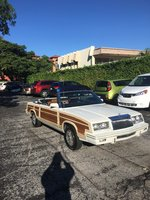 Picture of 1984 Chrysler Le Baron Mark Cross Town and Country Convertible, exterior
