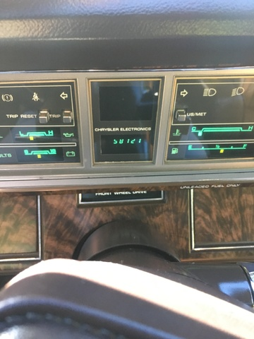 Picture of 1984 Chrysler Le Baron Mark Cross Town and Country Convertible, interior