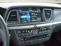 2017 Genesis G80 5.0L Ultimate, 2017 Genesis G80 5.0 Ultimate Radio Display, interior