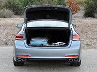 2017 Genesis G80 5.0L Ultimate, 2017 Genesis G80 5.0 Ultimate trunk space, interior