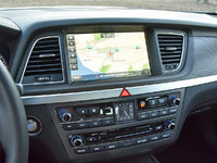 2017 Genesis G80 5.0L Ultimate, 2017 Genesis G80 5.0 Ultimate Navigation Map Display, interior