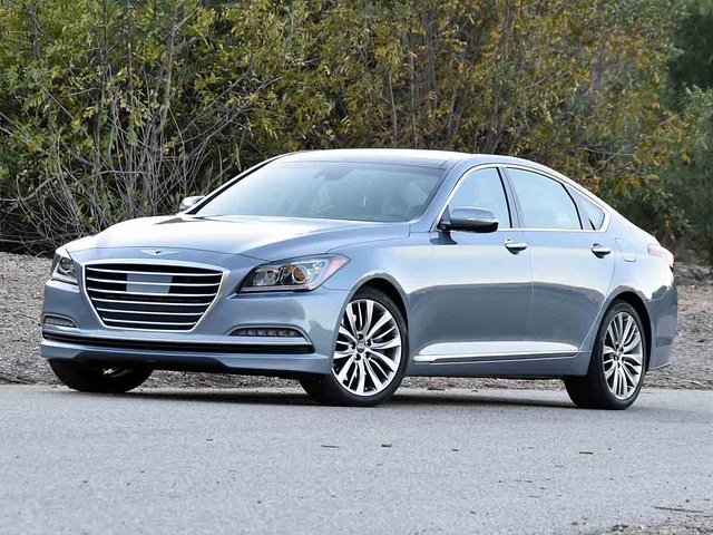 2017 Genesis G80 5.0L Ultimate, 2017 Genesis G80 5.0 Ultimate in Parisian Gray, exterior, gallery_worthy