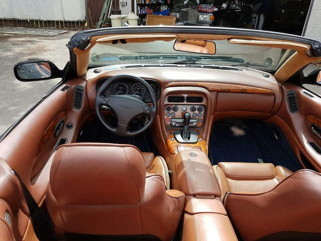 Perfect Picture Of 2003 Aston Martin DB7 Vantage Volante Convertible RWD, Interior,  Gallery_worthy
