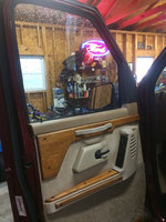 Picture of 1995 Ford E-150 XLT Club Wagon, interior